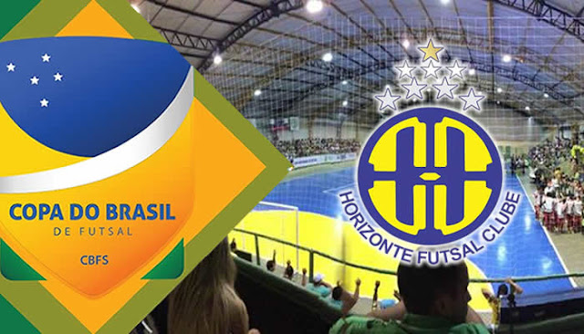 Horizonte Futsal enfrenta o Grêmio Pague Menos nas semifinais da Copa do Brasil
