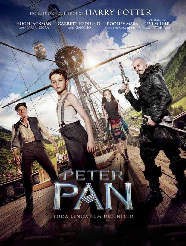 Peter Pan 3D Torrent – Blu-ray Rip 1080p Dublado (2015)