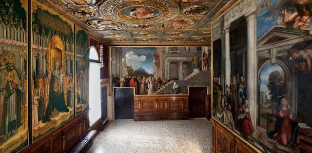 Informações sobre a Accademia em Veneza