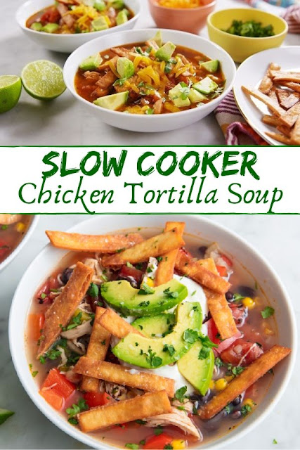 Slow Cooker Chicken Tortilla Soup | Chicken Recipes Instant Pot, Chicken Recipes Rotisserie, Chicken Recipes Drumstick, Chicken Recipes Asian, Chicken Recipes Whole, Chicken Recipes Low Carb, Chicken Recipes Creamy, Chicken Recipes Stuffed, Chicken Recipes Skillet, Chicken Recipes Videos, Chicken Recipes Roasted, Chicken Recipes Chinese, Chicken Recipes Garlic, Chicken Recipes Paleo, Chicken Recipes Breaded, Chicken Recipes Bone In, Chicken Recipes Ground. #slowcook #chicken #soup