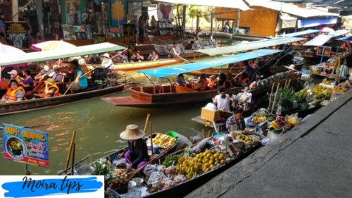 thailandia floating market