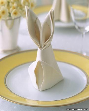 prostíráme stůl velikonoce