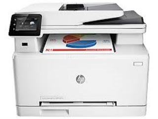 Image HP Color LaserJet Pro MFP M277n Printer