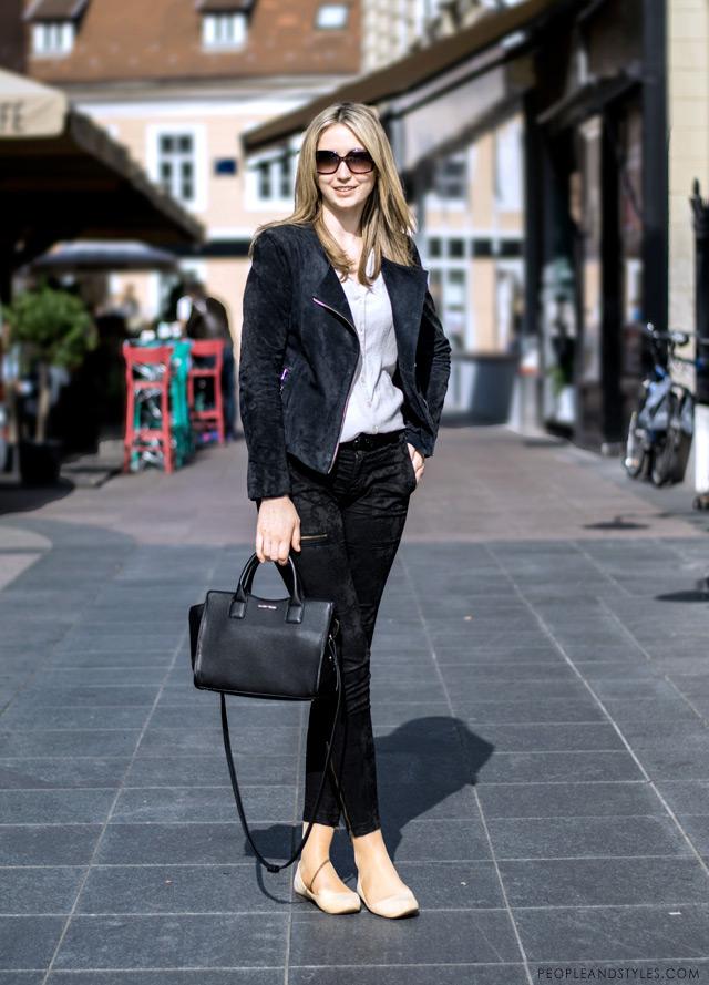Dominika Bratić, wear to work casual look