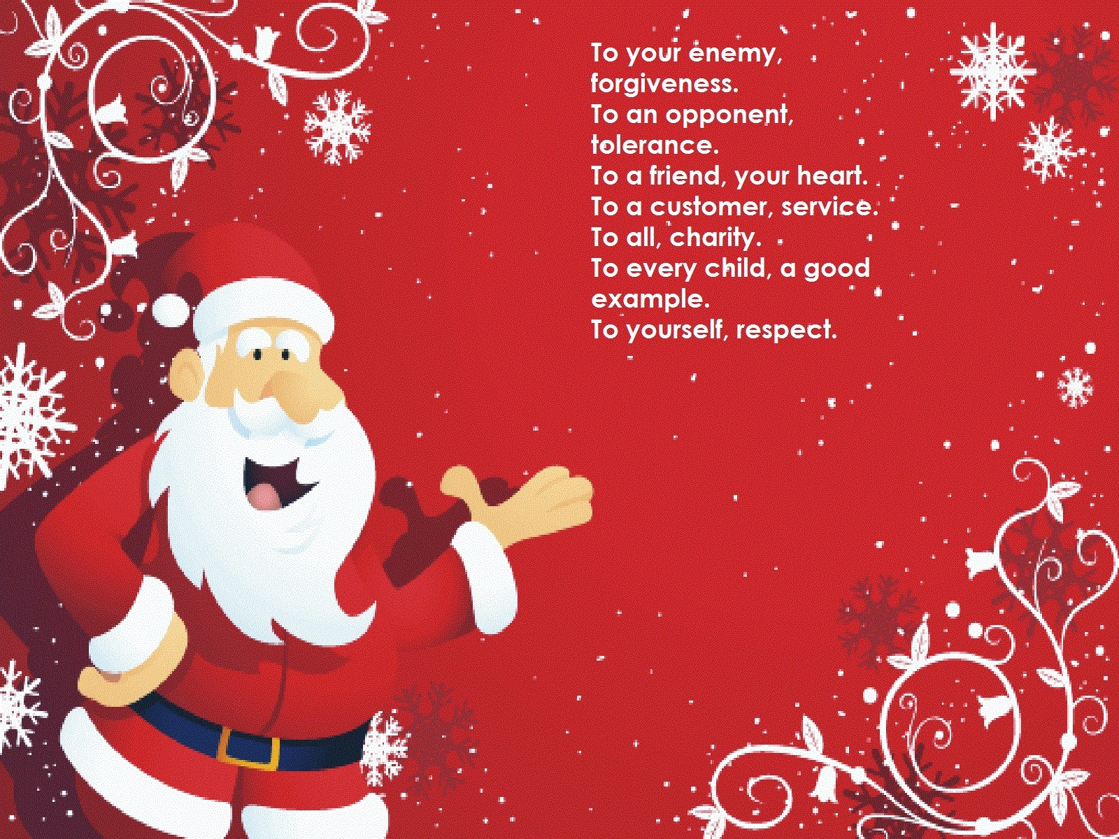 Happy Christmas Poems