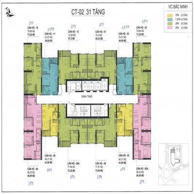 Thiết kế căn hộ Vinhomes Bắc Ninh