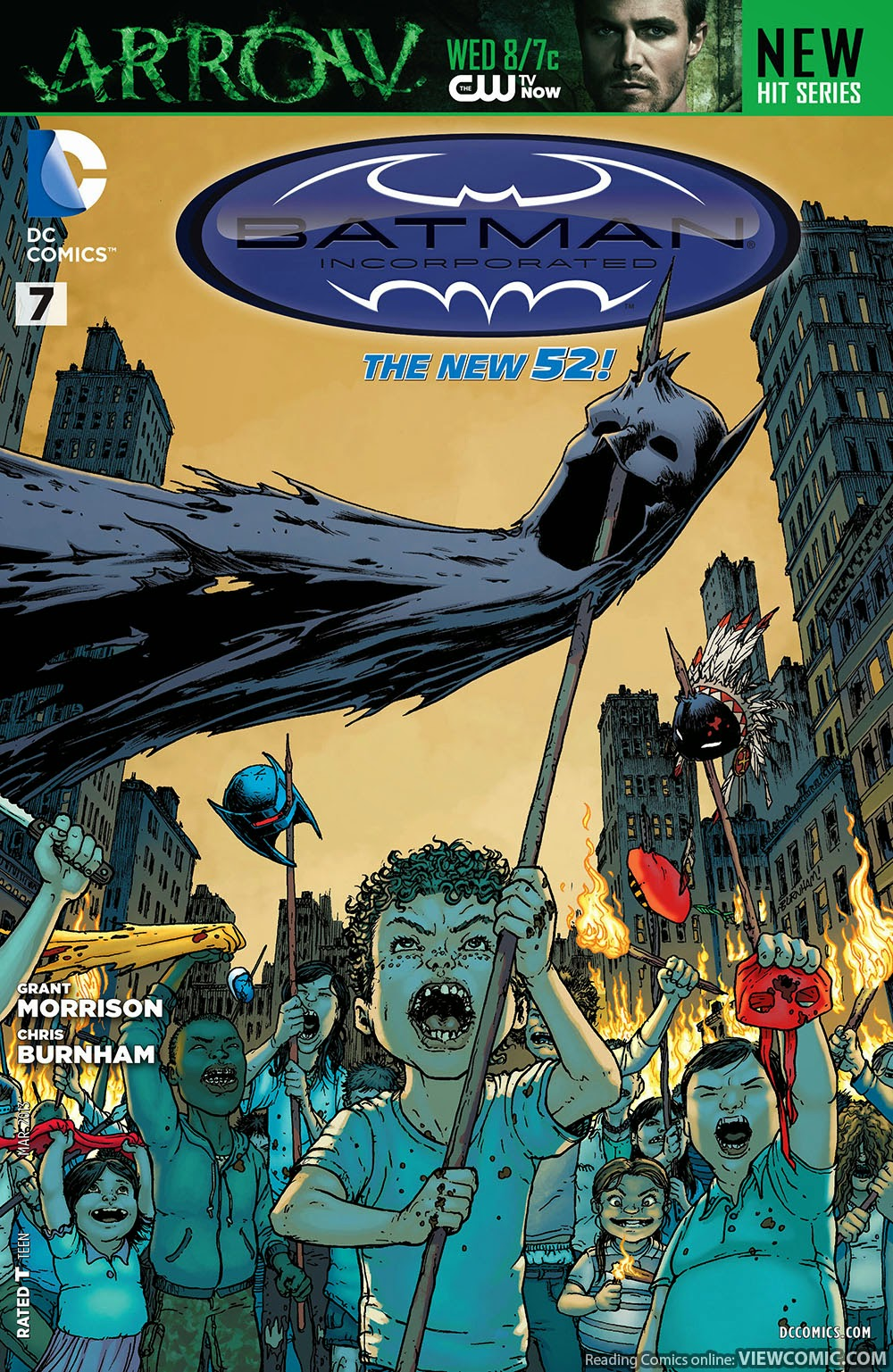 Batman Incorporated | Viewcomic reading comics online for