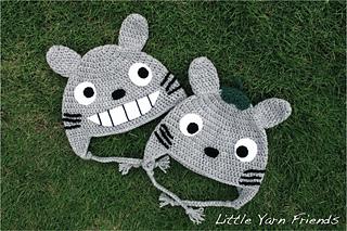 My neighbour Toroto free crochet patterns