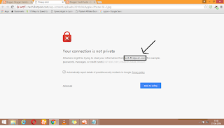 Firstpost Image Privacy error - NET::ERR_CERT_COMMON_NAME_INVALID