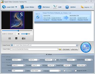 تنزيل برنامج تحويل الفيديو للايفون Free Apple Video Converter Factory