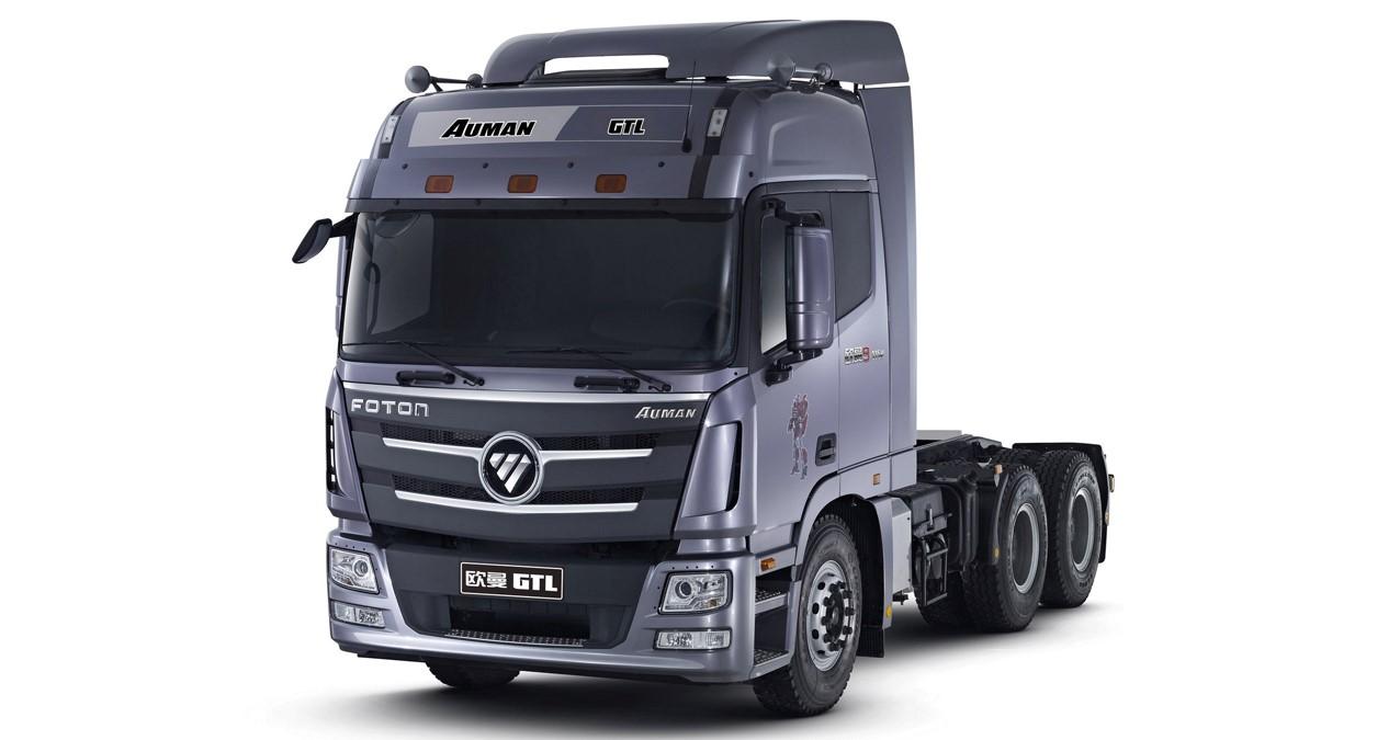 """La nueva línea """"AUMAN"""" de Foton llegó para convertirse en la mejor herramienta de trabajo en el segmento de camiones Heavy Duty."""