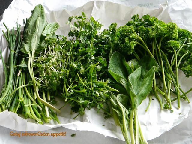 Grüne-Sauce-Kräuter - Zielony sos frankfurcki - Czytaj więcej »