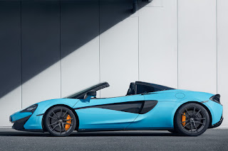 McLaren 570S Spider with Track Pack (2018) Side