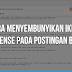 Cara Menyembunyikan Iklan Adsense Pada Postingan Blog