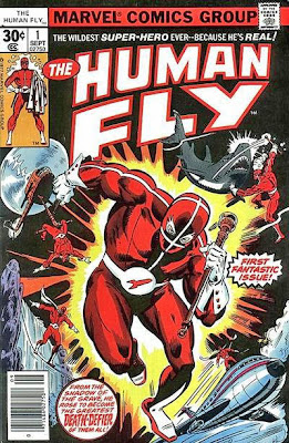 The Human Fly #1. Top 10 super-heroes with no reason to live.
