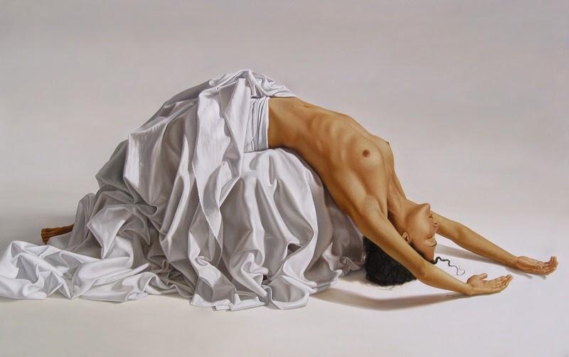 Figura e Luz - Omar Ortiz | Pintura Sensual Hiper-Realista  - Mexicano
