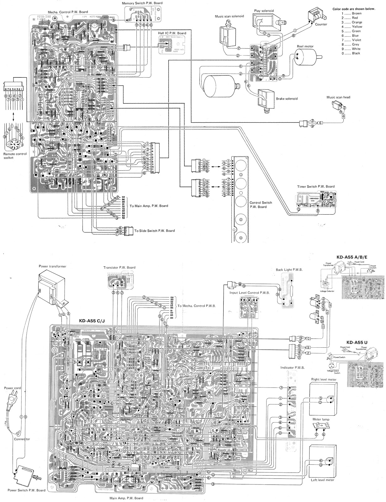 small resolution of jvc deck wiring diagram 19 sg dbd de u2022jvc kd a55 gradient cd6500 tape deck