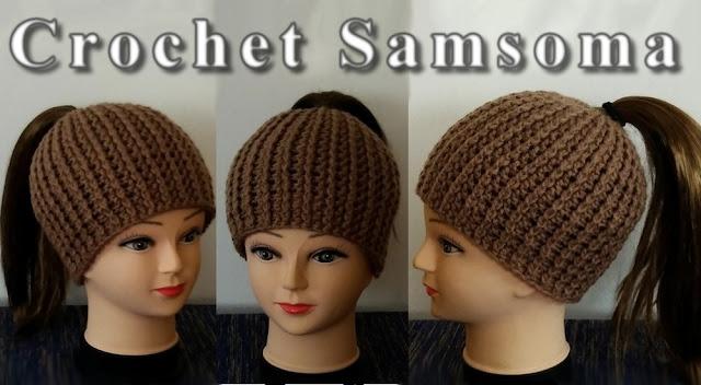 طريقة كروشيه طاقية ذيل الحصان . كروشيه طاقية مفتوحة من فوق . crochet hat . crochet ponytail hat . كروشيه طاقية ذيل الحصان .كروشيه طاقية بناتي . كروشيه قبعة  .كروشيه طاقية  .