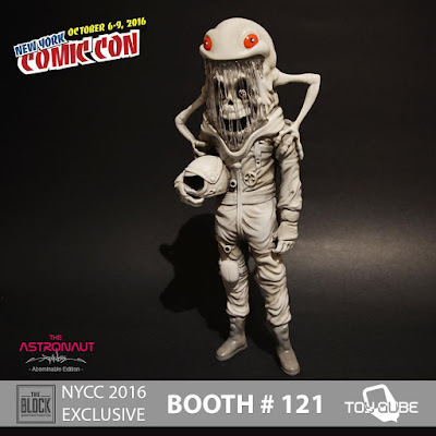 New York Comic Con 2014 Exclusive The Astronaut Abominable Edition Vinyl Figure by Alex Pardee x ToyQube