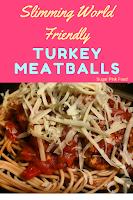 turkey meatballs  slimming world recipe
