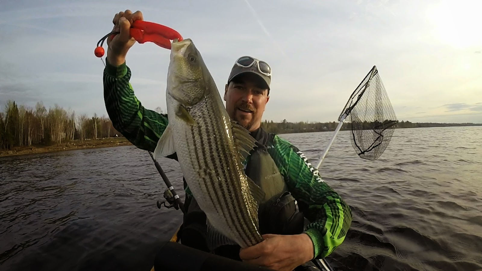 Gear up for stripers for Bass fishing gear