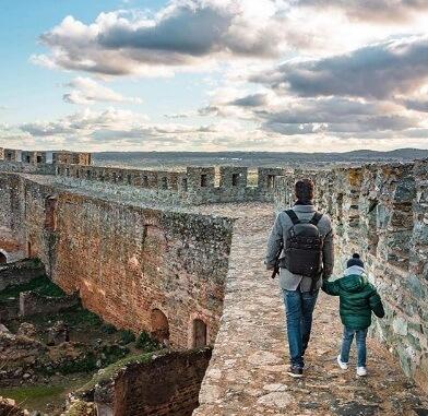 portugal europa con chicos evora murallas alentejo