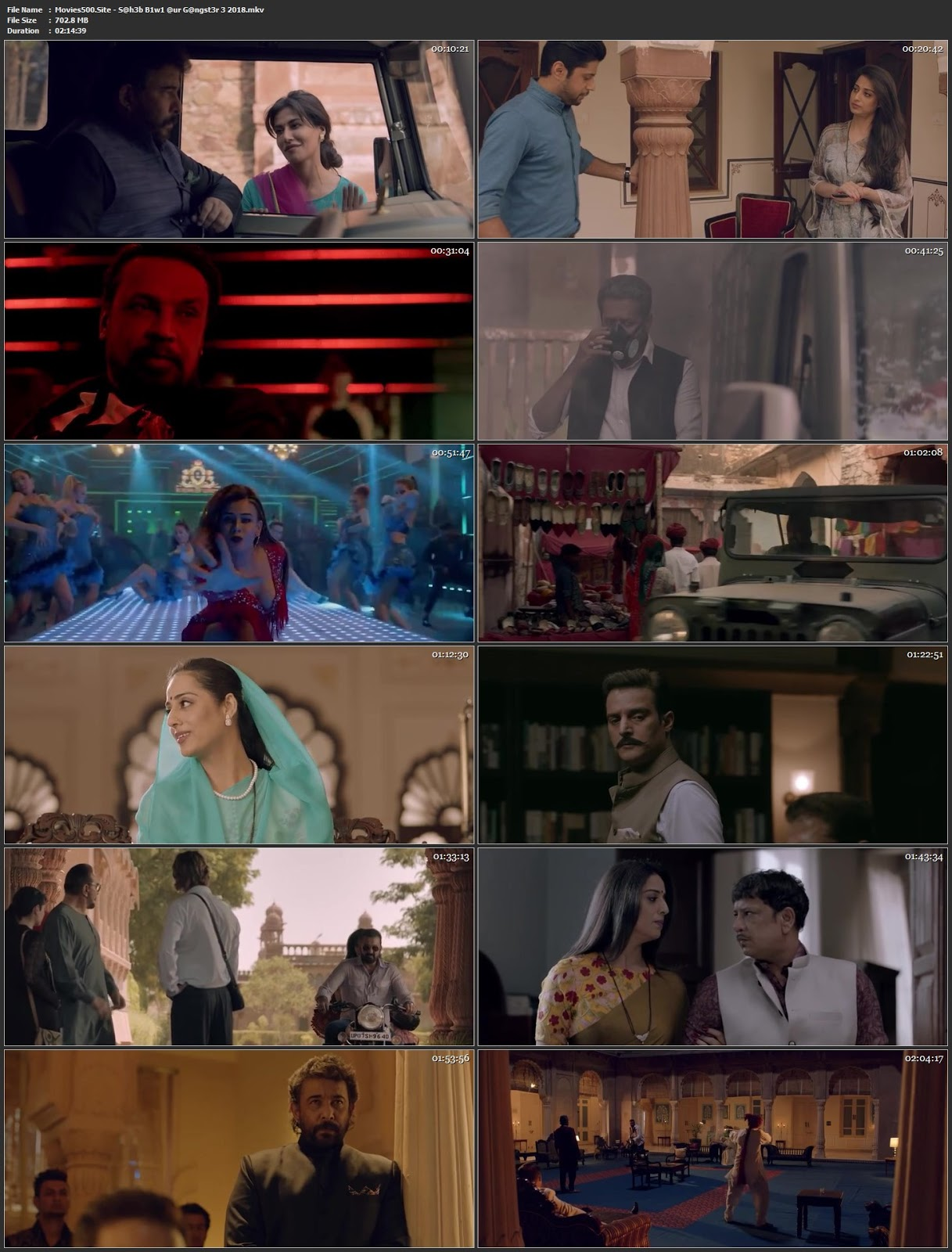 Saheb Biwi Aur Gangster 3 2018 Hindi Full Movie HDRip 720p