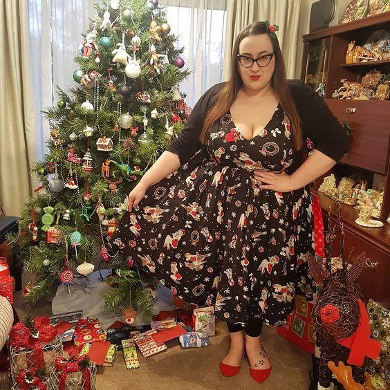 Hell Bunny Blitzen plus size Dress