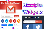 Stylish Email Subscription Widgets For Blog