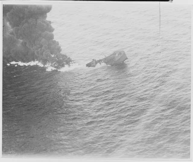 British tanker Empire Gem sinks off the North Carolina coast on 24 January 1942 worldwartwo.filminspector.com