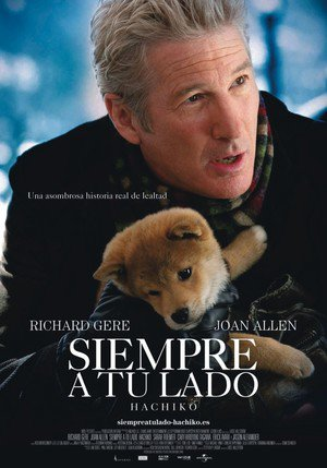Poster Hachi: A Dog's Tale 2009