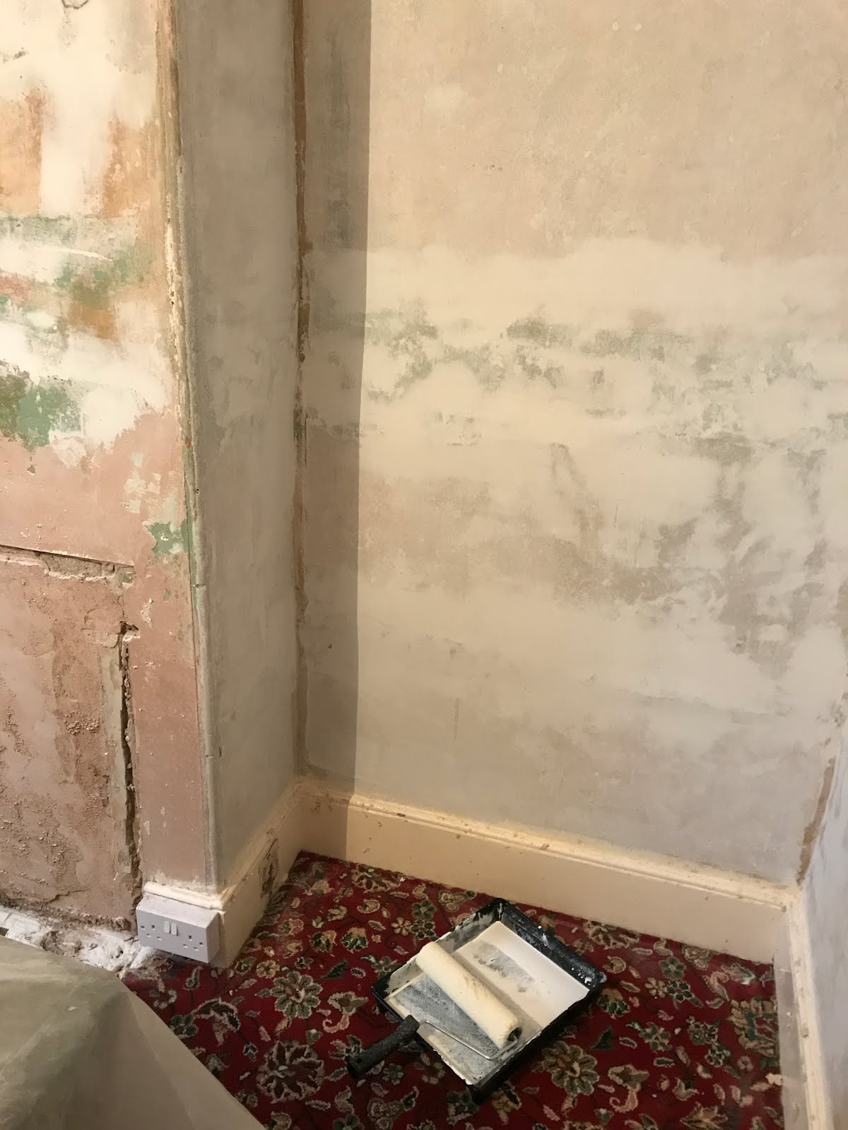 repairing plaster and paint