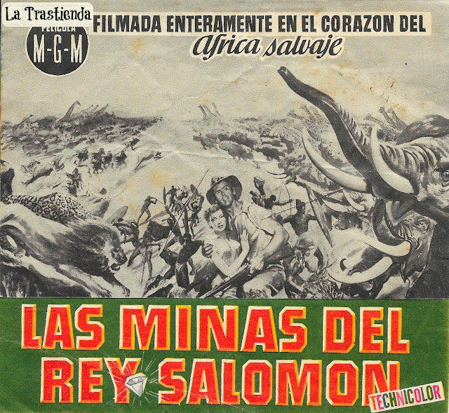 Programa de Cine - Las Minas del Rey Salomón - Deborah Kerr - Stewart Granger