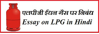 Essay on LPG in Hindi