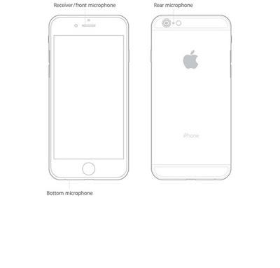 Từ iPhone 5 trở đi chúng ta đều thấy có tổng cộng 3 Micro