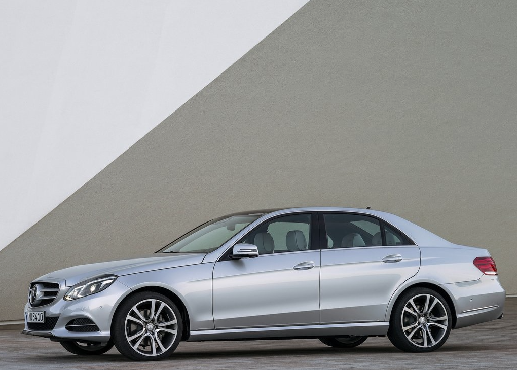 2014 Mercedes-Benz E-Class sedan silver
