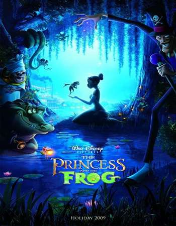 The Princess and the Frog 2009 Hindi Dual Audio BRRip Full Movie Download