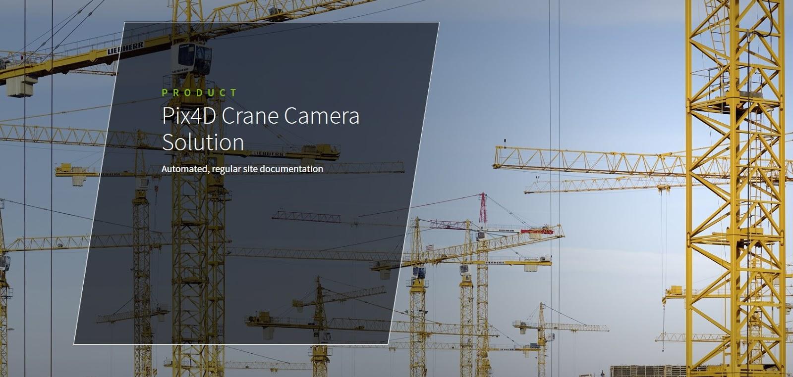 Carpentieri Edili In Svizzera gru al posto dei droni per la fotogrammetria da cantiere