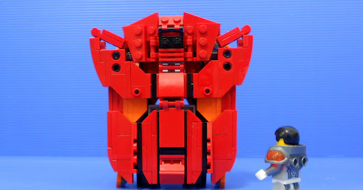 "LEGO ""The Last Autobot"" Part 1 of 2 : Alternate modes"