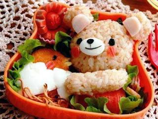 Món ăn ngon và đẹp: hộp cơm