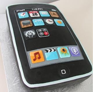kue ultah hp iphone