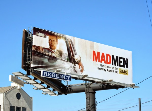 Mad Men midseason 7 billboard
