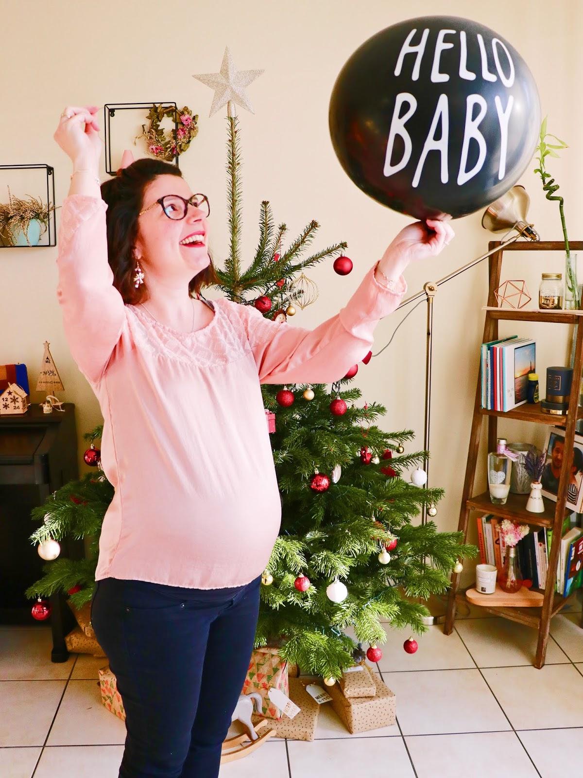 fille ou garçon gender reveal révélation sexe du bébé grossesse maternité ballon confettis ambassadeur parly 2 futurs parents comment annoncer les gommettes de melo