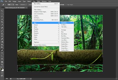 Cara Membuat Efek Blur Pada Foto (Autofocus) di Photoshop 23