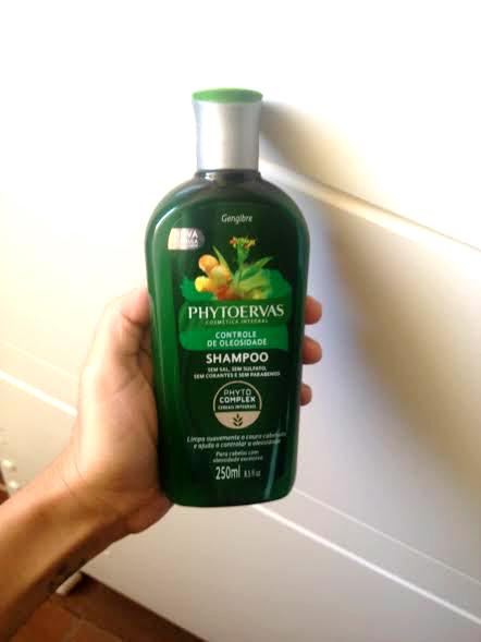 shampoo controle de oleosidade phytoervas low poo