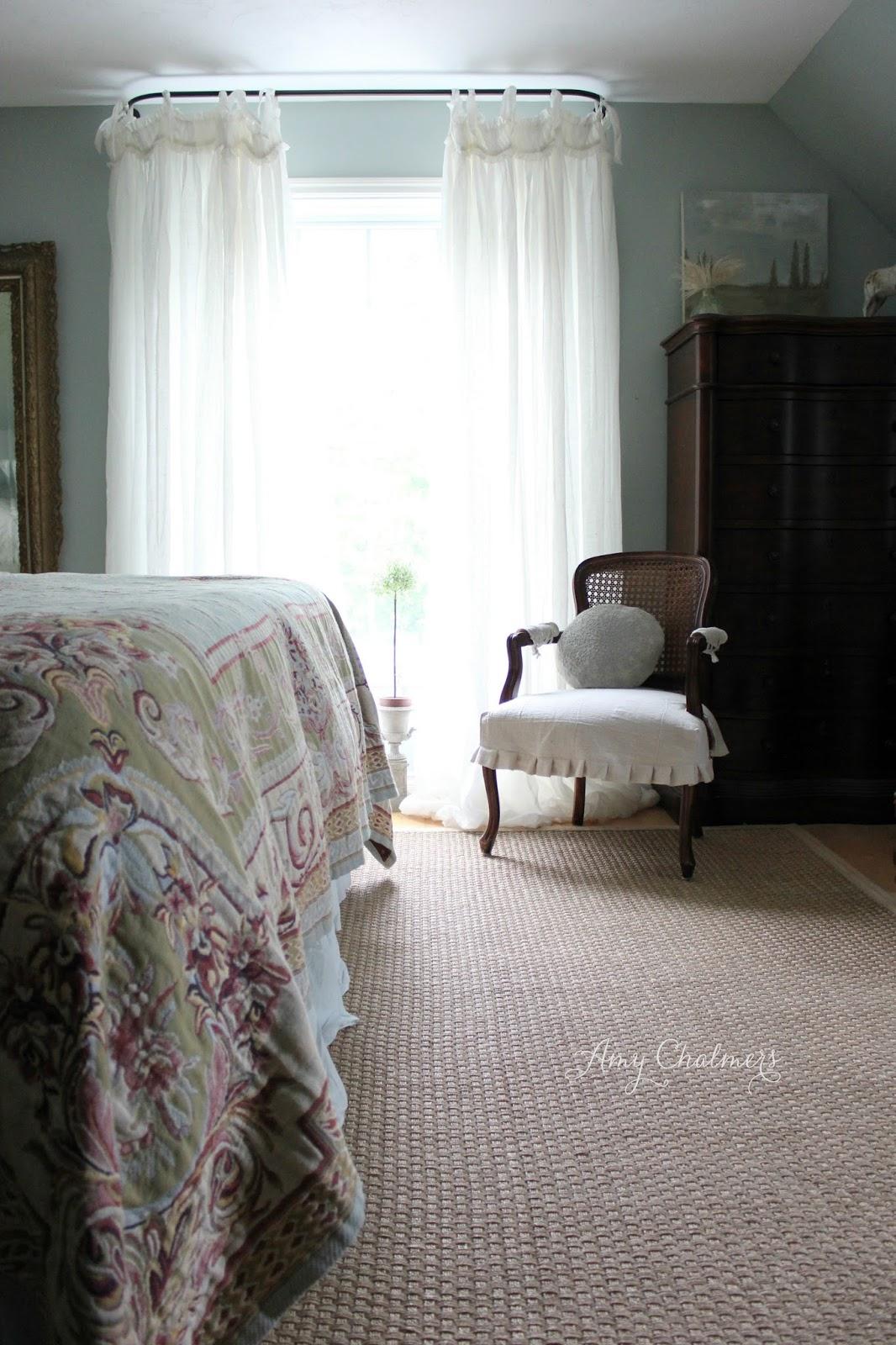 maison decor linen balloon curtains for master
