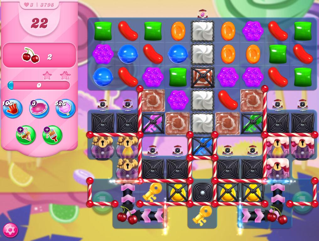 Candy Crush Saga level 3798