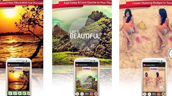 Las 10 mejores apps de edición de fotos para Android.