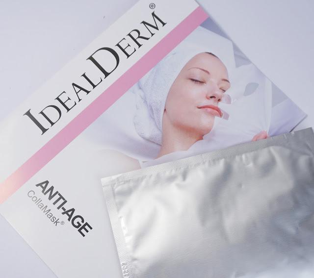 idealderm - CollaMask Anti-Age Gewebemaske