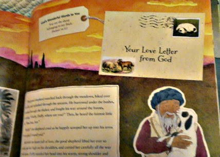 love letters from god sample page